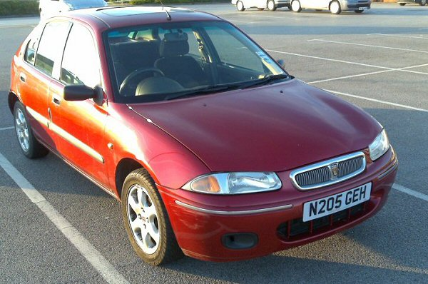 Rover 214Si - £175 to me. Oh dear...
