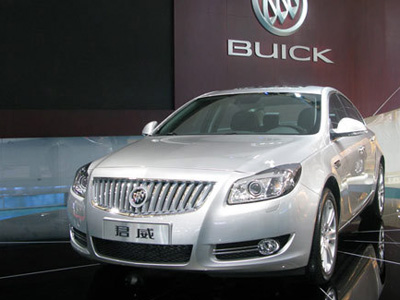 Buick Regal - China's Vauxhall Insignia
