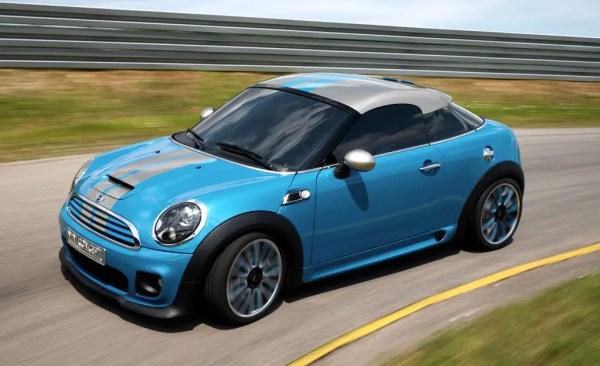 MINI Coupe Concept debuts at Frankfurt