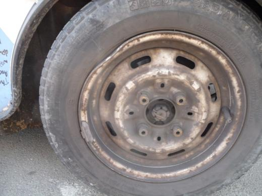 Result of a very big Bulgarian pothole