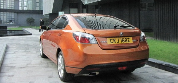 MG6 from behind