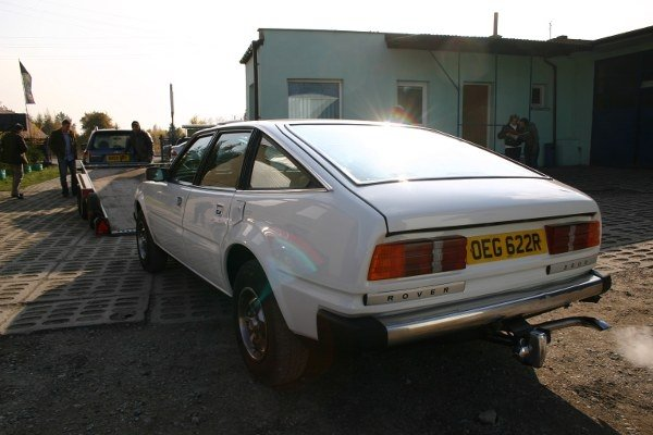 Rover SD1 back from Poland, and looking just fine...