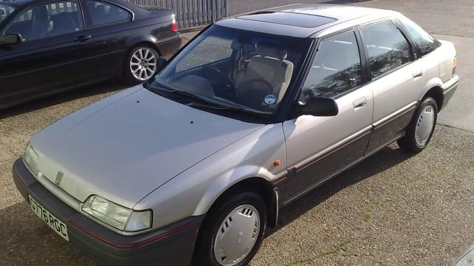 Rover 214 still looking good