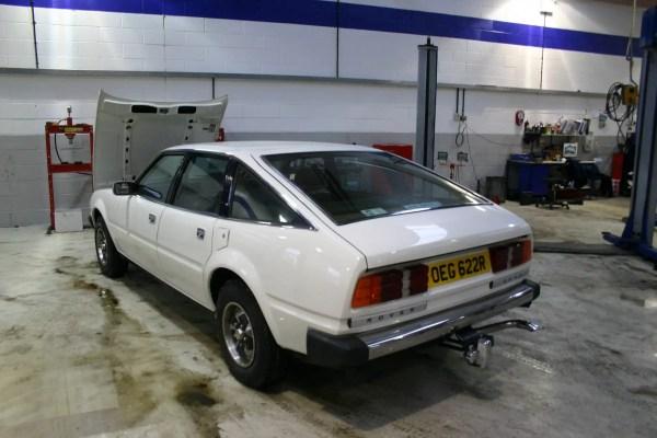 Rover SD1 at MOTest in Farnham...