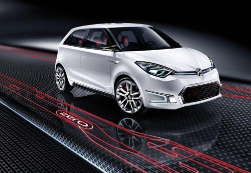 Crisp and exciting frontal styling for the MG ZERO Concept.