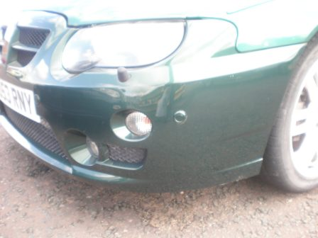 53 Reg. Facelift development car with front parking sensors!