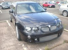 Front of MG ZT V8 Development Car 2