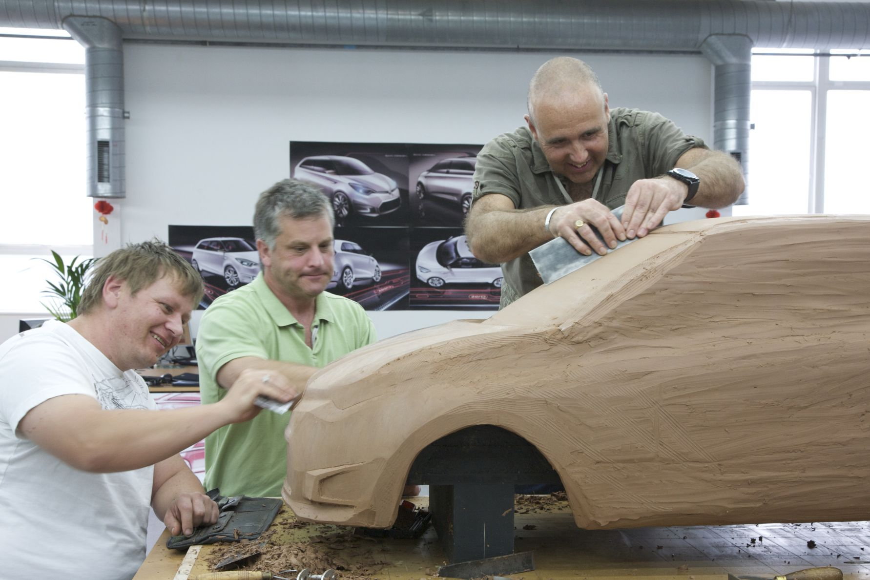 Despite all the computer tech, there's still a place for Clay Modellers