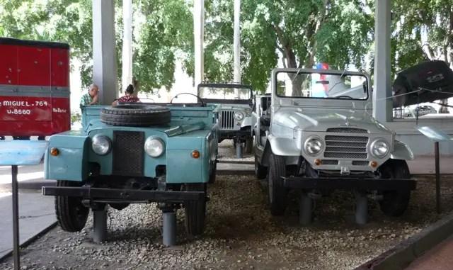 Fidel Castro's Land Rover Station Wagon