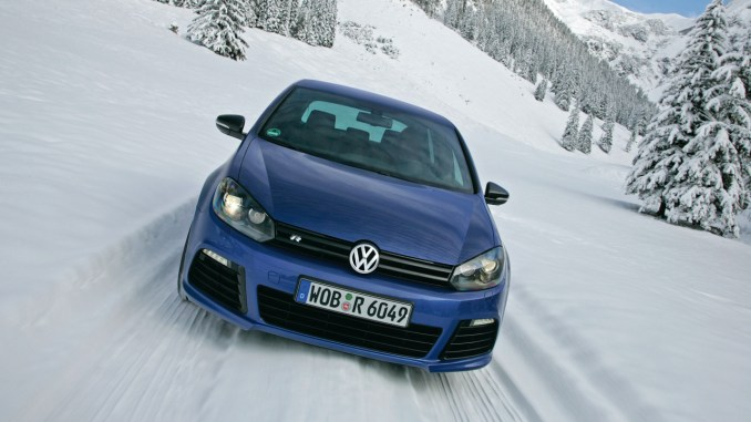 Volkswagen Golf was my Christmas Day drive
