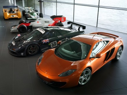 McLaren MP4-12C is powered by Ricardo