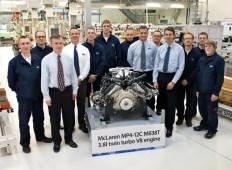New Ricardo engine assembly facility - 1st production engine
