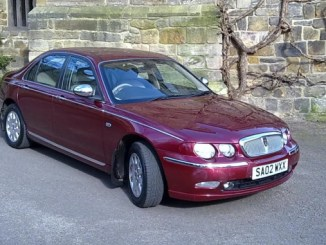 Steve Ward's Rover 75: It's still got it