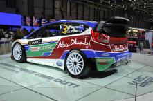 Ford Fiesta S2000 WRC car