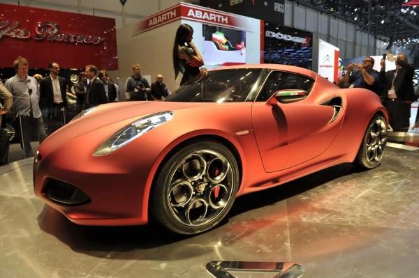Concept star of the show: Alfa Romeo 4C