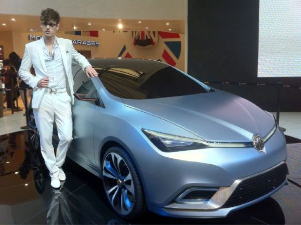 MG5 concept unveiled in Shanghai