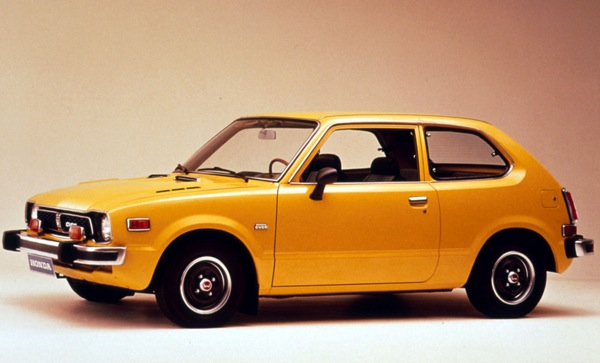 Honda Civic CVCC was astonishingly advanced for the early '70s.