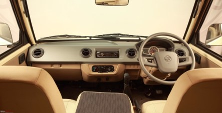 Nissan_Ashok Leyland_DOST_Interior