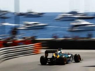 Jarno Trulli at Monaco