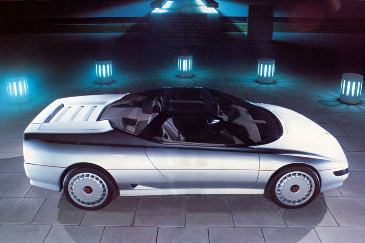 Concepts and prototypes : MG EX-E (1985)