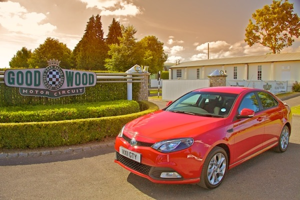 MG6 at Goodwood