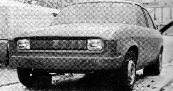The BMC Board files - Austin Allegro styling signed off early