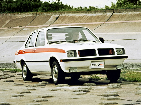 Opel OSV lent some of its styling cues to the Ascona and Manta B