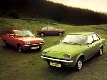Vauxhall Chevette range at launch