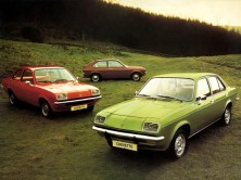 Vauxhall Chevette range at launch