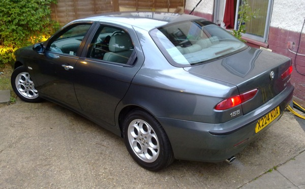 Alfa Romeo 156 2.5 V6-24 joins the AROnline fleet