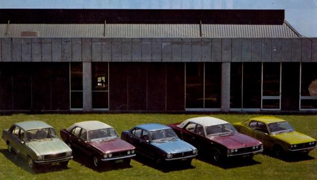 1976 Todd-produced Avenger range