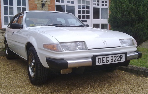 Rover SD1 after a thoroughly unsatisfying drive in sunny Northamptonshire...