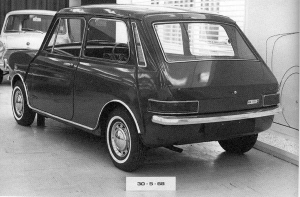 The cars : Mini Clubman development story