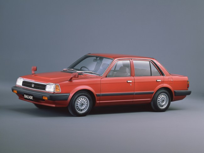 The Honda Ballade received a mild facelift in 1982, which BL wasn't privy to... except...