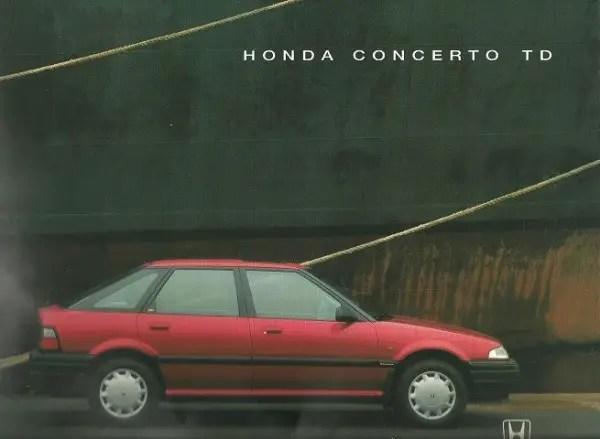 Honda Concerto TD (1)