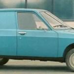 Citroen Projet Y was underpinned by Fiat 127 engineering