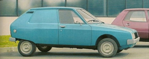 Citroën Projet Y was underpinned by Fiat 127 engineering