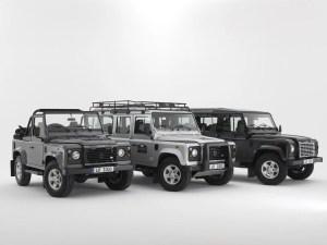 Land Rover Defender under threat?
