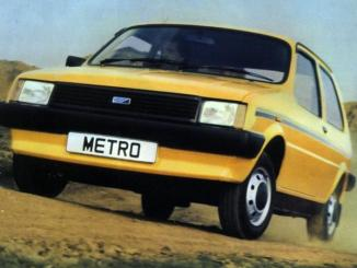 The cars : Austin/MG Metro development history
