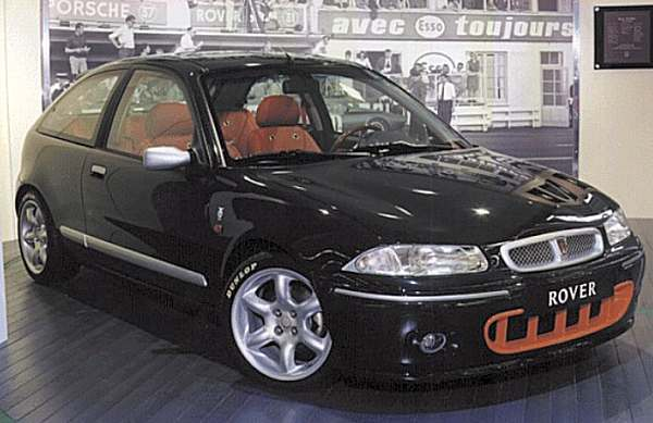 The cars : Rover 200BRM LE