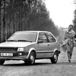 Ah the K10 Micra. Loved by driving schools in the '80s, and getting cool now thanks to the expanding J-Tin scene.