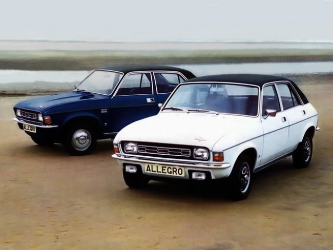 Austin Allegro launch and growing pains. A 1.1- or 1.3-litre Allegro is now officially cool, and great to drive without being ironic. If you're 17-21, your mates will love this!