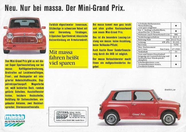 Massa Austin Rover