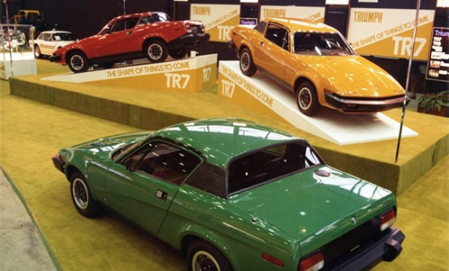 Triumph TR7 Chicago motor show