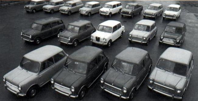Austin-Morris story 1968, The Mini line-up