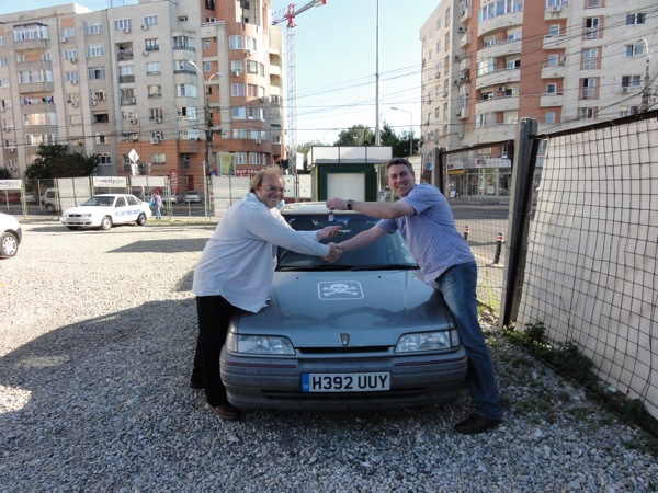Team FTW's Rover 216 comes into AROnline's care