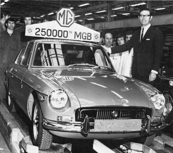 MGB reaches quarter of a million