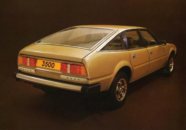 A great image from the Rover SD1 launch brochure