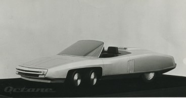 Geoff Lawson's Panther 6 styling model