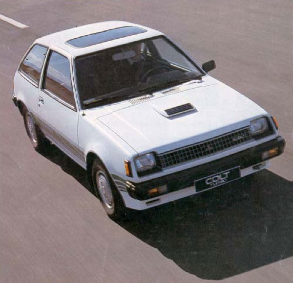 Colt 1400 Turbo was a bit-player in the UK hot-hatch market